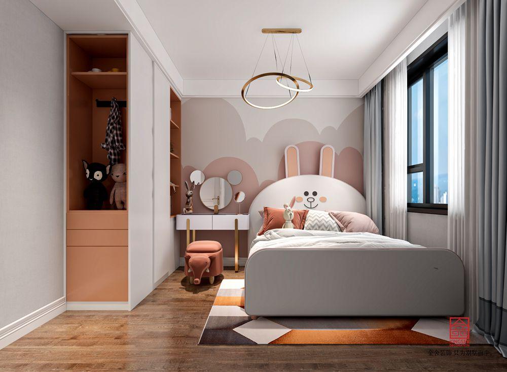 国赫天著155平米装修-轻奢风格-儿童房