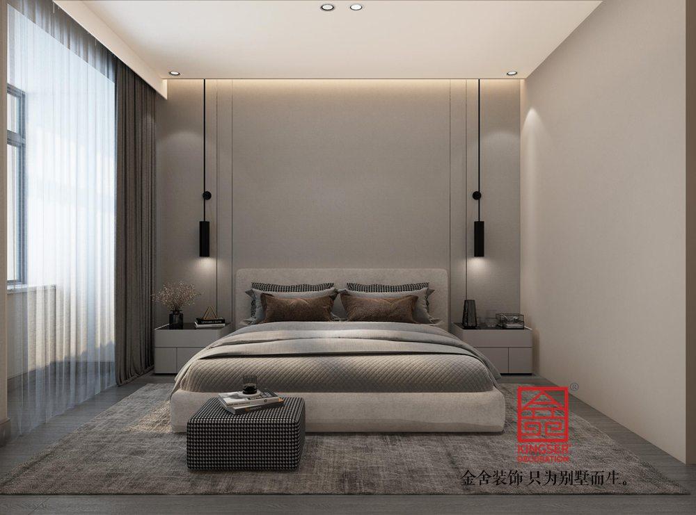 荣盛华府178平米装修-轻奢风格-卧室