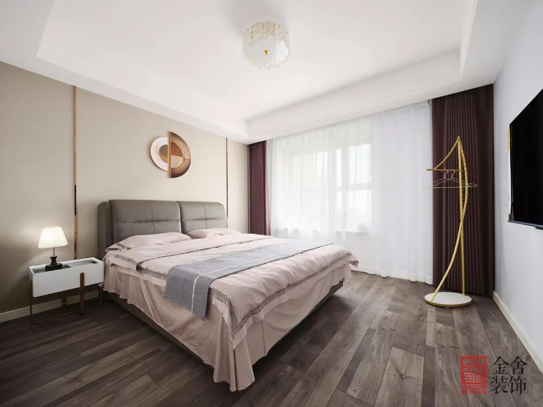 直隶新城167平米现代北欧风格装修-卧室