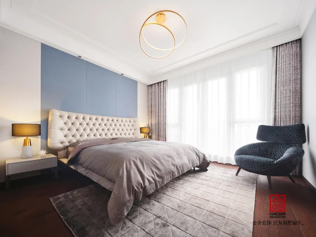 裕华壹号260平米现代轻奢装修-卧室