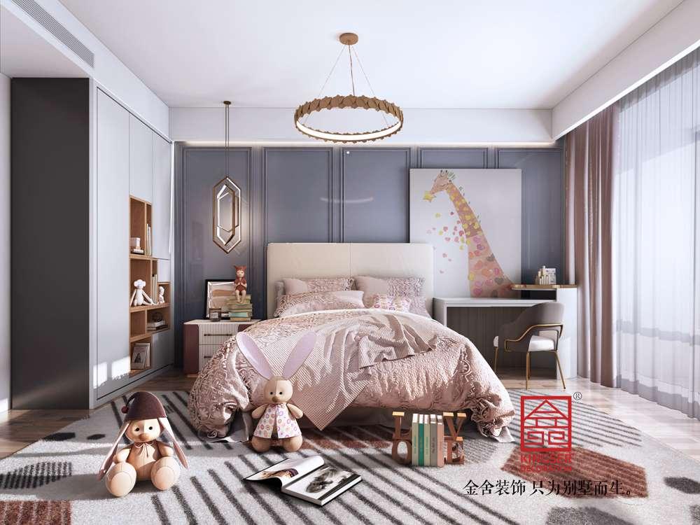 东南智汇城170平米现代简约装修-儿童房