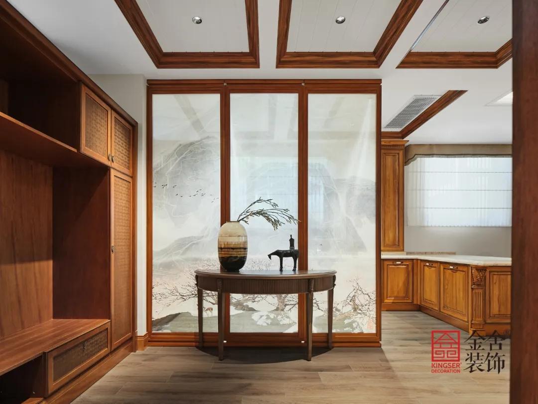莲花庭院600平米别墅中式风格装修-茶室