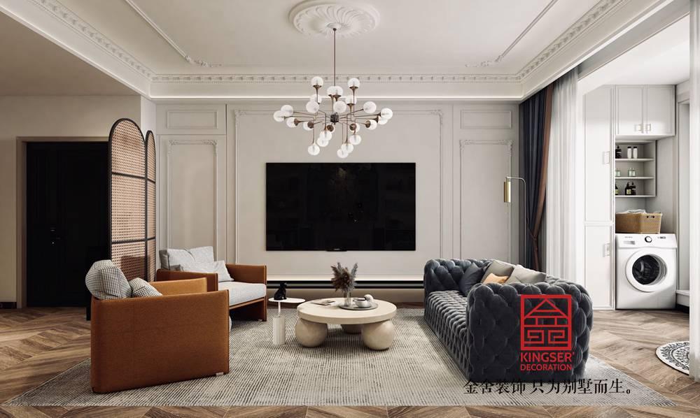 融创中心180平米法式复古装修效果图