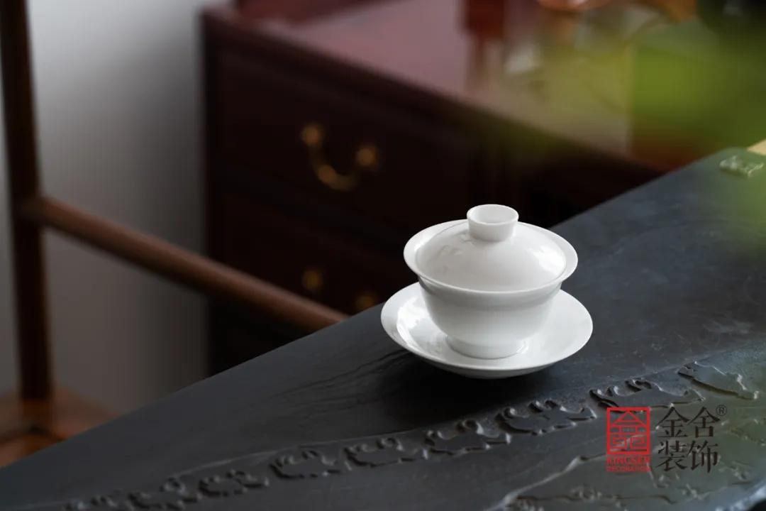 八马茶业中式风格装修实景-茶室